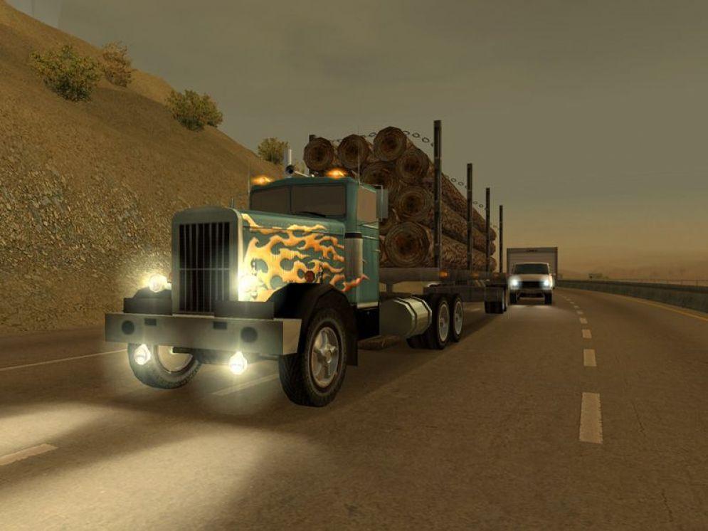 Screenshot ze hry 18 Wheels of Steel: Across America - Recenze-her.cz
