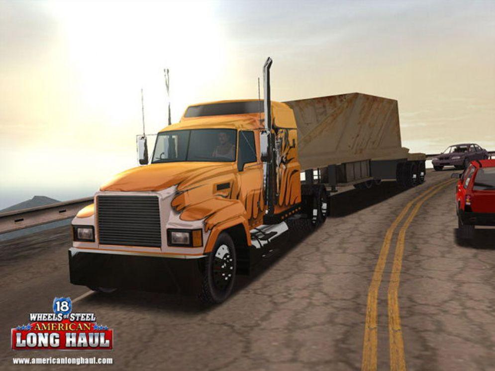 Screenshot ze hry 18 Wheels of Steel: American Long Haul - Recenze-her.cz