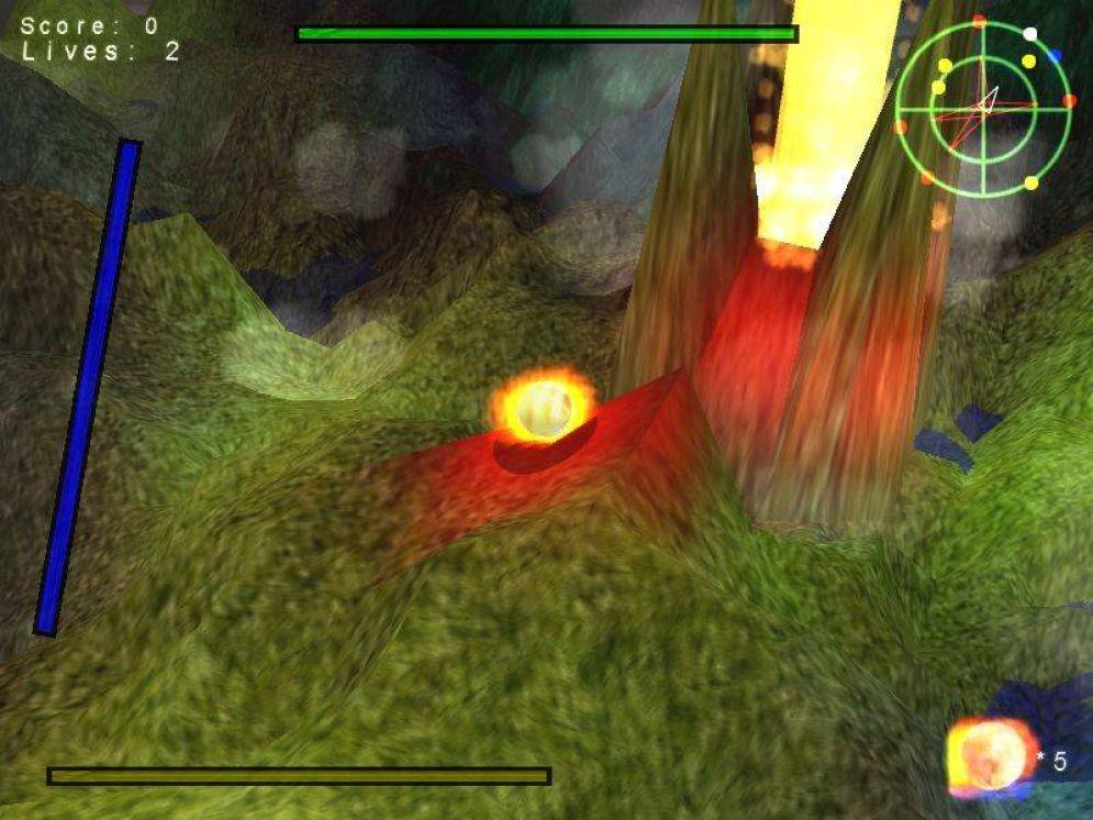 Screenshot ze hry AblazeBall - Recenze-her.cz