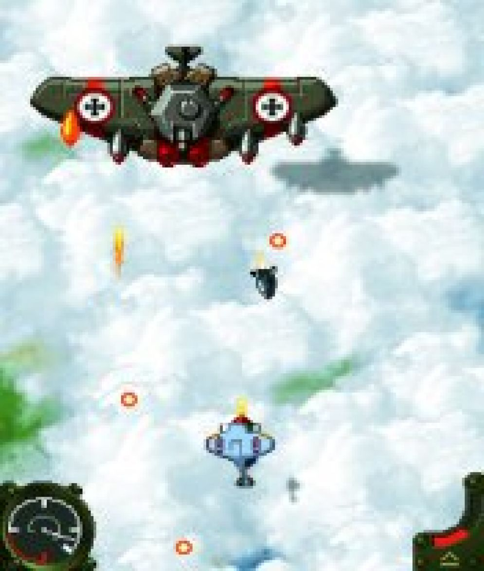 Screenshot ze hry Aces of the Luftwaffe - Recenze-her.cz