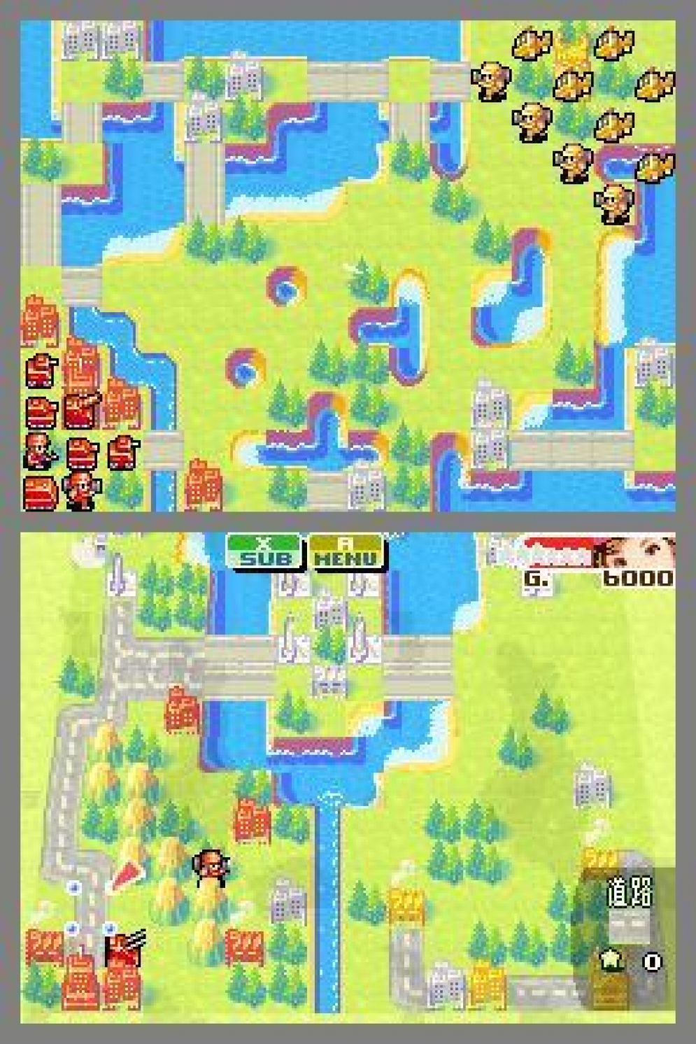 Screenshot ze hry Advance Wars: Dual Strike - Recenze-her.cz