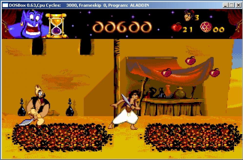 Screenshot ze hry Aladdin - Recenze-her.cz