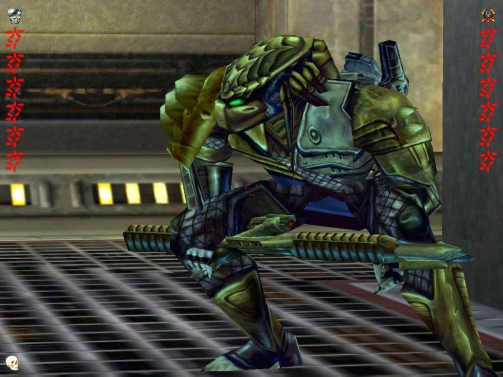 Screenshot ze hry Aliens vs. Predator 2: Primal Hunt - Recenze-her.cz