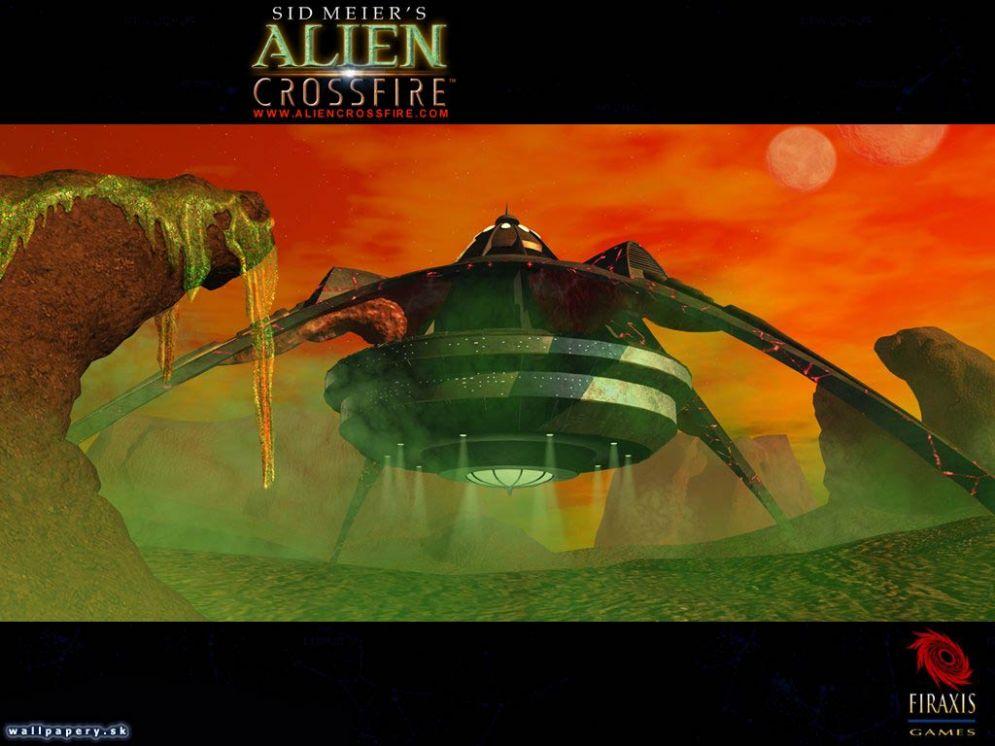 Screenshot ze hry Alpha Centauri: Alien Crossfire - Recenze-her.cz