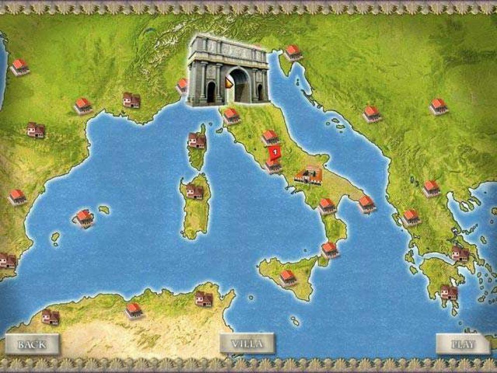 Screenshot ze hry Ancient Rome - Recenze-her.cz