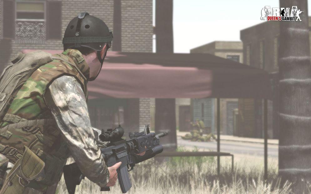 Screenshot ze hry Armed Assault (ArmA): Queens Gambit - Recenze-her.cz