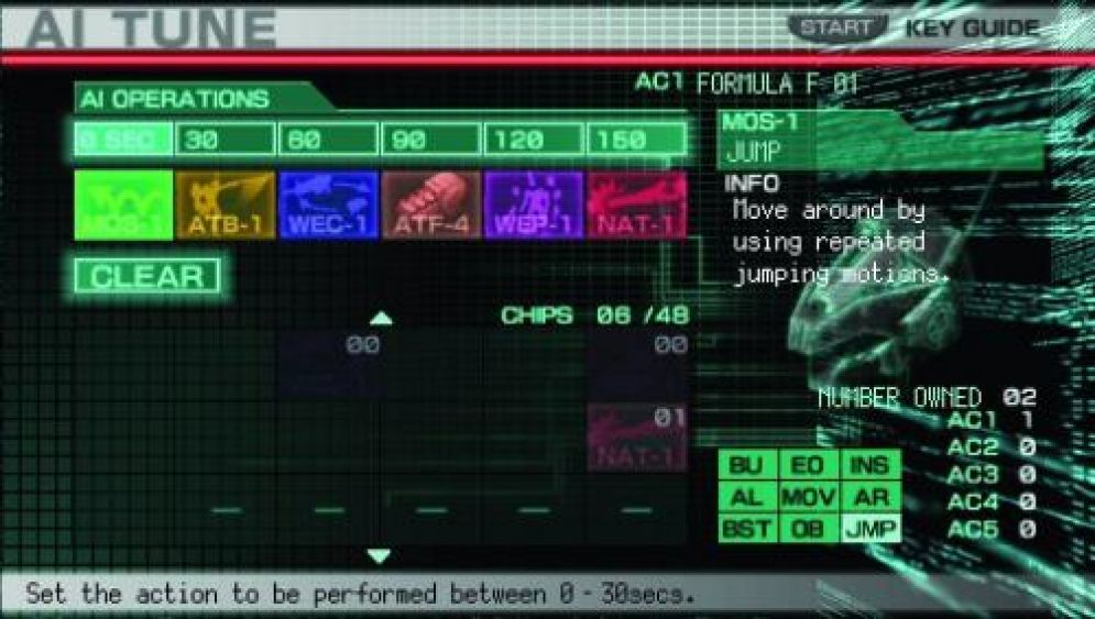 Screenshot ze hry Armored Core: Formula Front - Extreme Battle - Recenze-her.cz