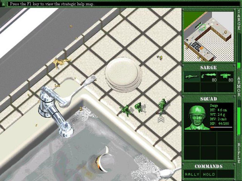 Screenshot ze hry Army Men 2 - Recenze-her.cz