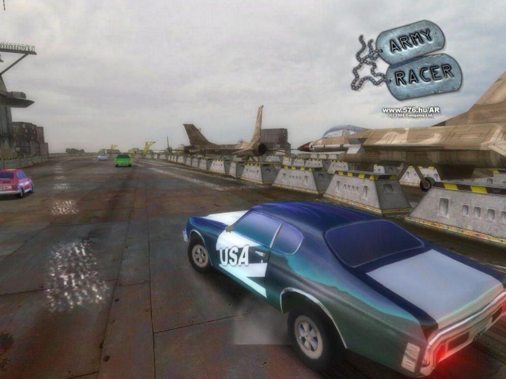 Screenshot ze hry Army Racer - Recenze-her.cz