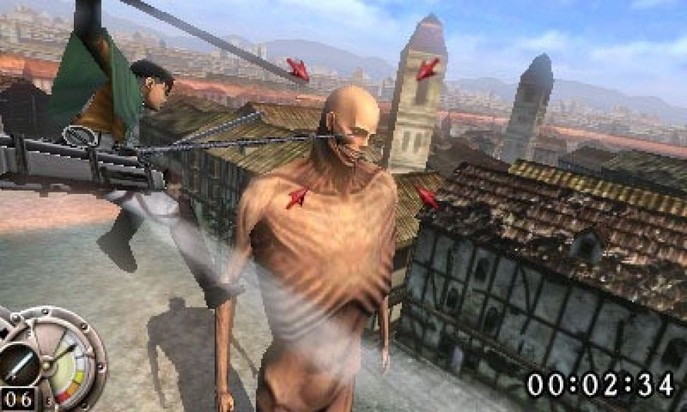 Screenshot ze hry Attack on Titan: The Last Wings of Mankind - Recenze-her.cz