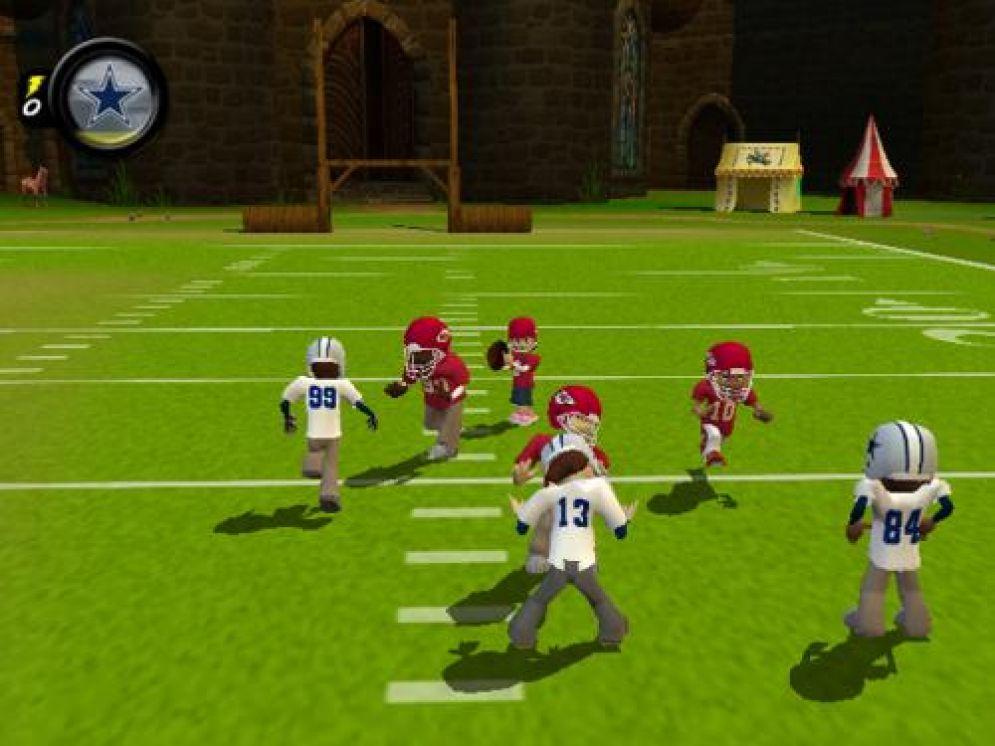 Screenshot ze hry Backyard Football 2009 - Recenze-her.cz