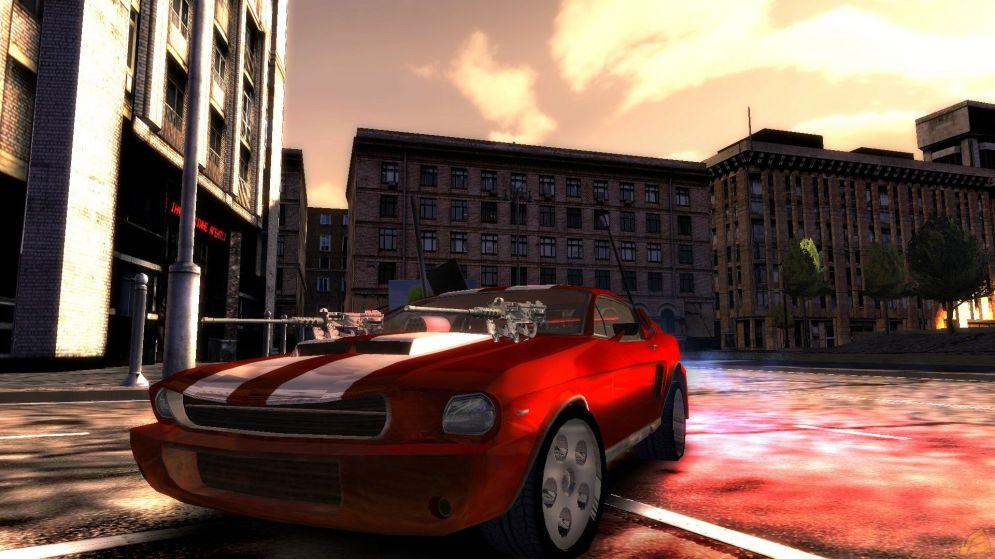 Screenshot ze hry Battle Metal: Street Riot Control - Recenze-her.cz
