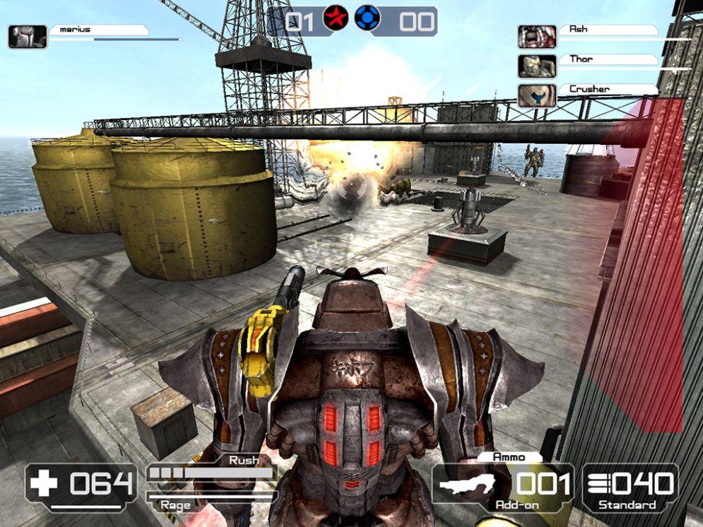 Screenshot ze hry Battle Rage - Recenze-her.cz