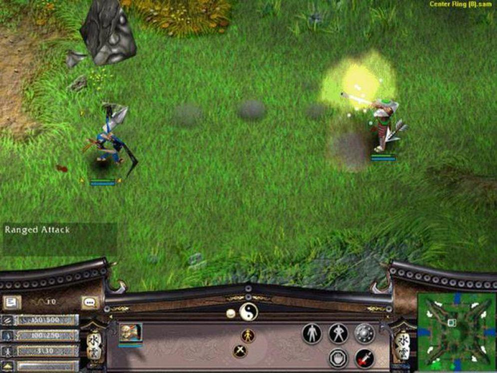 Screenshot ze hry Battle Realms - Recenze-her.cz