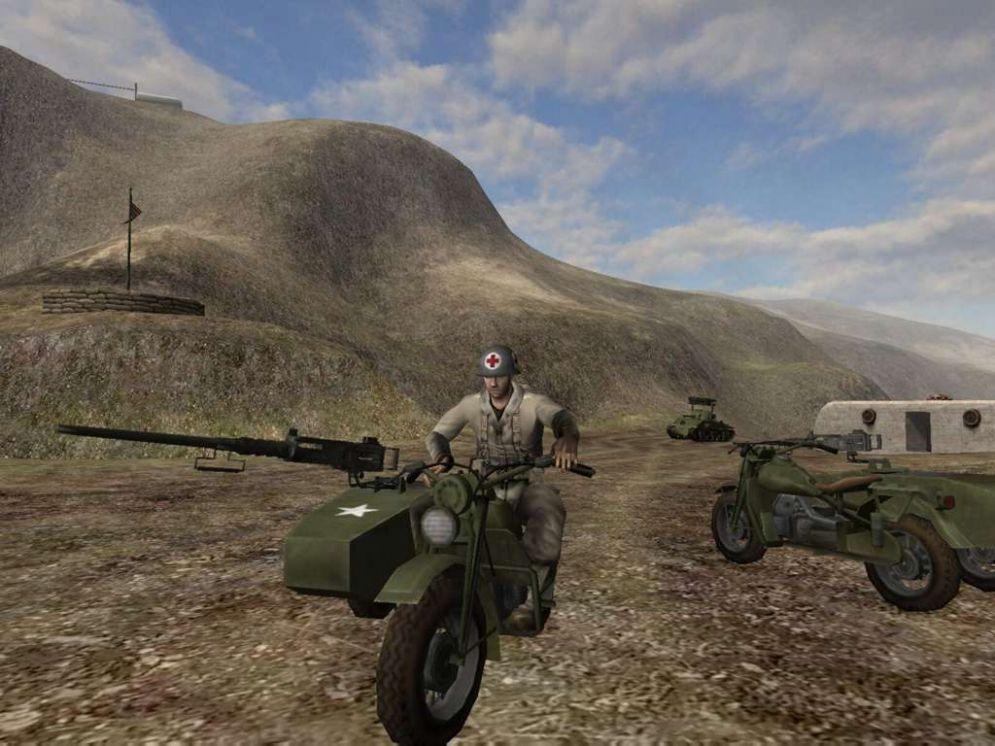 Screenshot ze hry Battlefield 1942: Secrets Weapons of WW2 - Recenze-her.cz