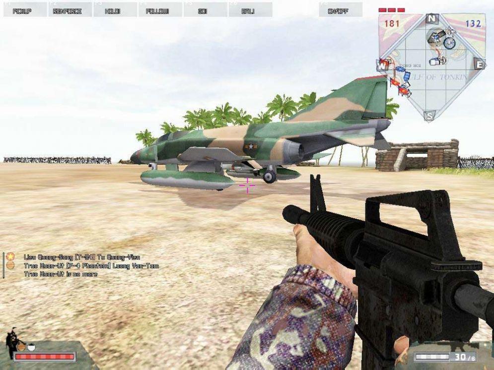 Screenshot ze hry Battlefield Vietnam - Recenze-her.cz