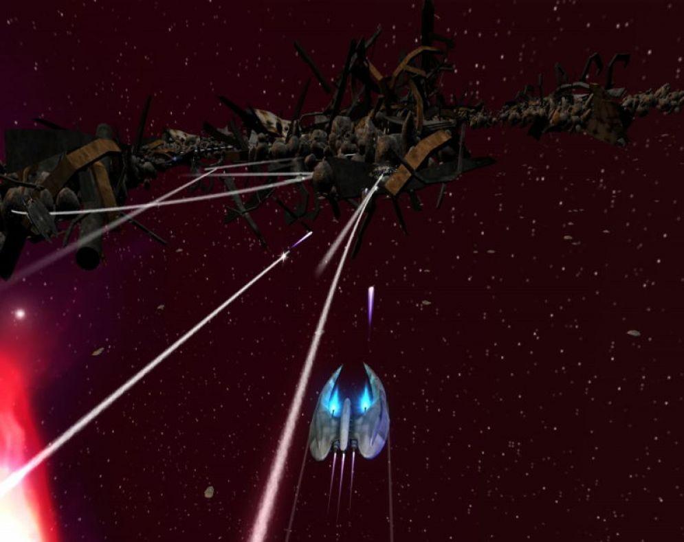 Screenshot ze hry Battlestar Galactica - Recenze-her.cz
