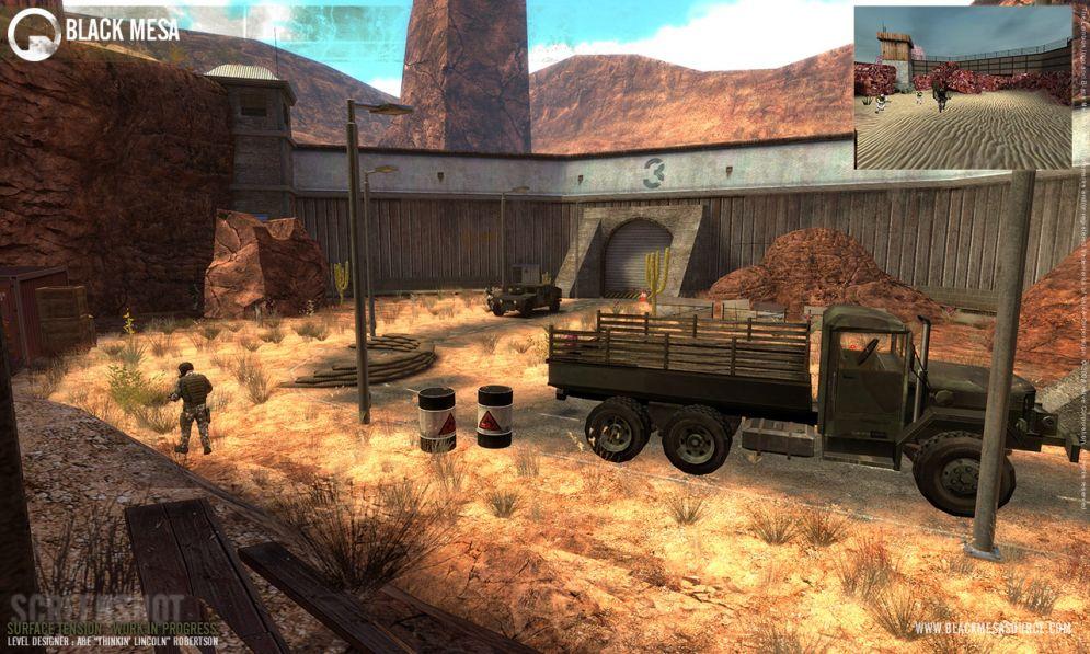 Screenshot ze hry Black Mesa: Source  - Recenze-her.cz