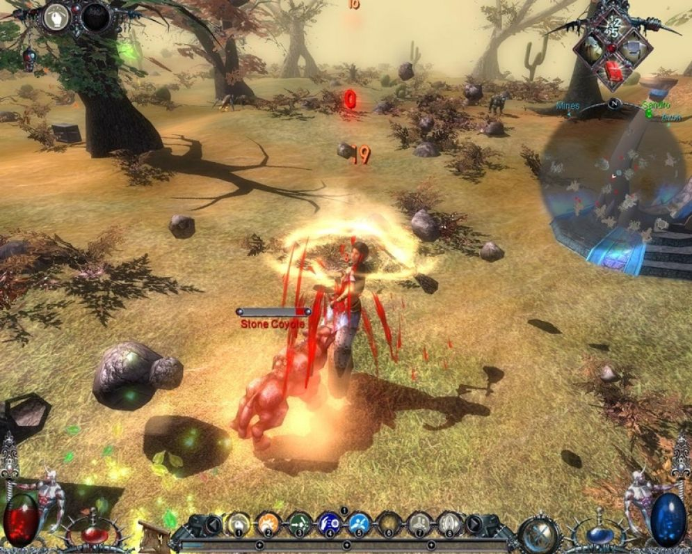 Screenshot ze hry Blood Magic: Time of Shadows - Recenze-her.cz