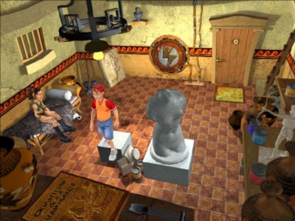 Screenshot ze hry Bonzo: Escape from Olympus - Recenze-her.cz