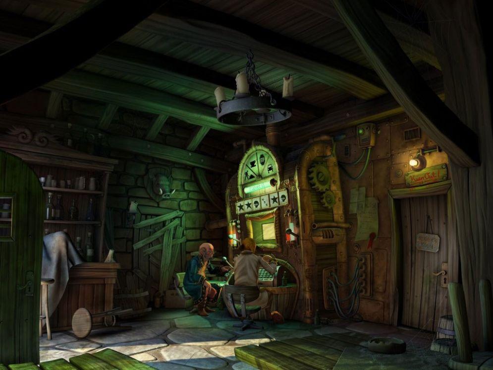 Screenshot ze hry Book of Unwritten Tales - Recenze-her.cz