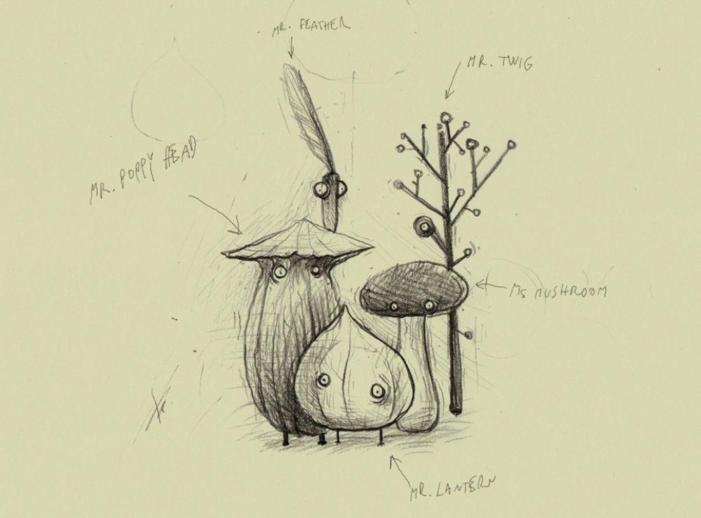 Screenshot ze hry Botanicula - Recenze-her.cz
