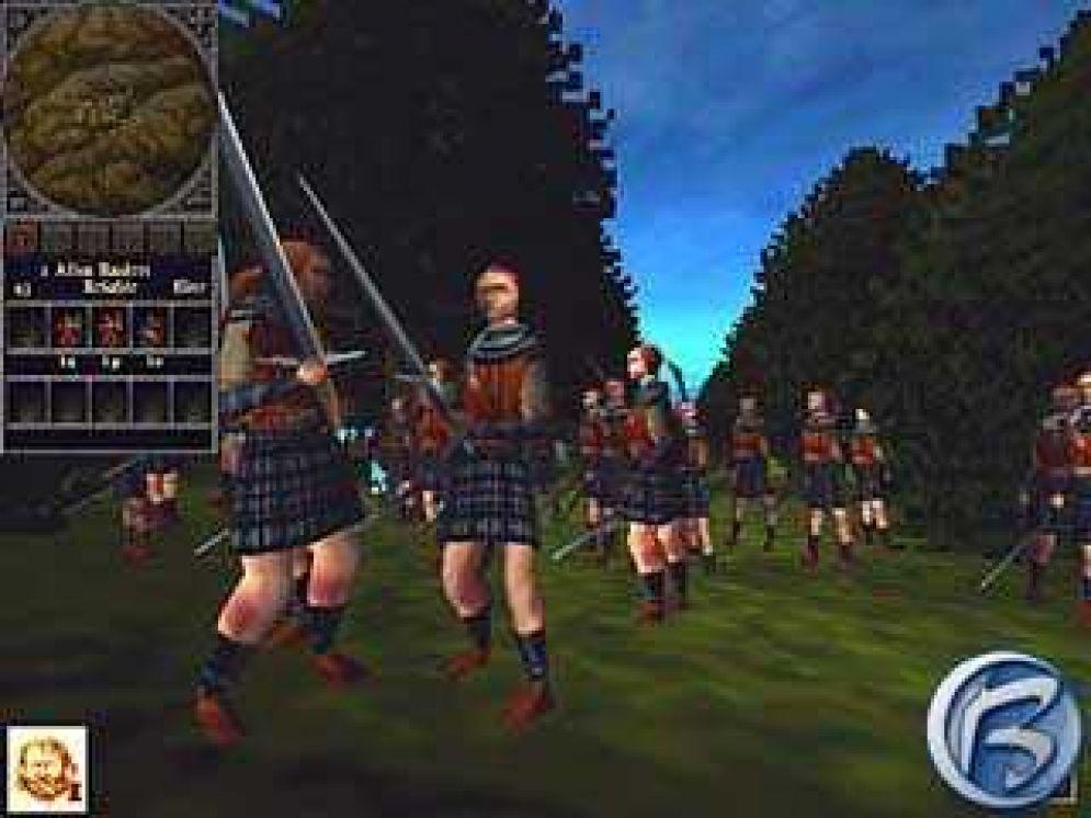 Screenshot ze hry Braveheart - Recenze-her.cz