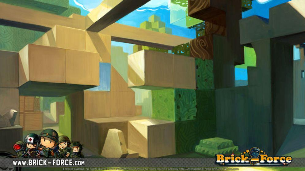 Screenshot ze hry Brick-Force - Recenze-her.cz