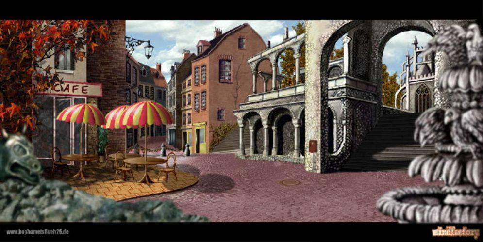 Screenshot ze hry Broken Sword 2.5: The Return of The Templars - Recenze-her.cz
