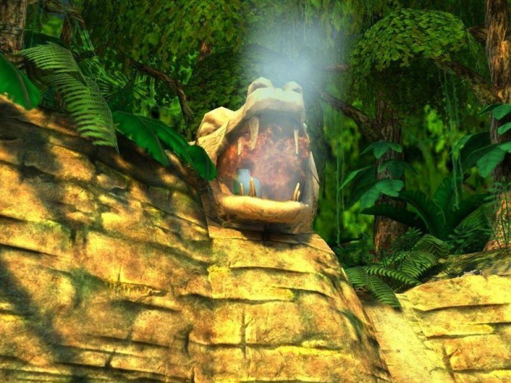 Screenshot ze hry Broken Sword 3: The Sleeping Dragon - Recenze-her.cz