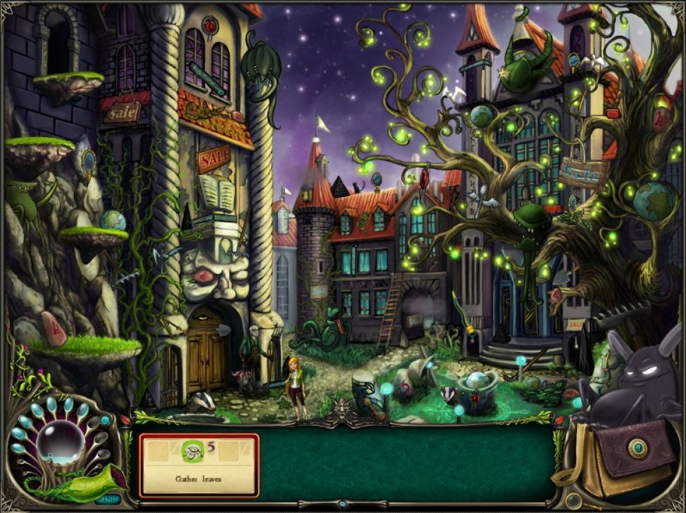 Screenshot ze hry Brunhilda and the Dark Crystal - Recenze-her.cz