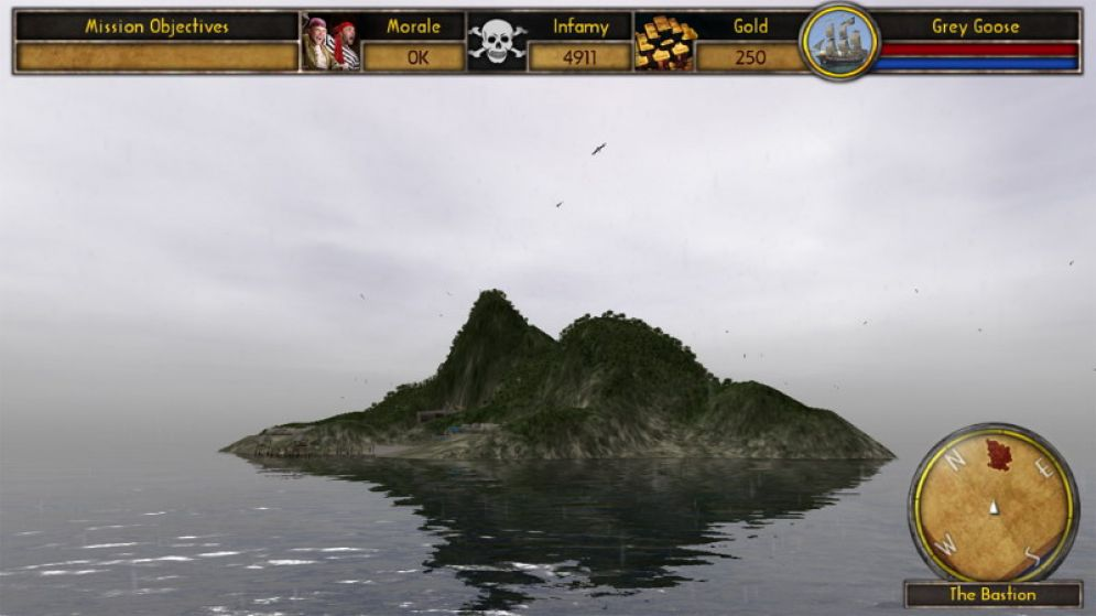 Screenshot ze hry Buccaneer: The pursuit of infamy - Recenze-her.cz