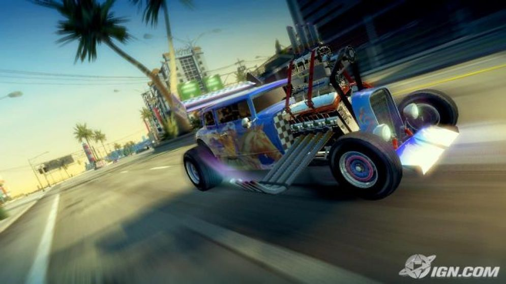 Screenshot ze hry Burnout Paradise: The Ultimate Box - Recenze-her.cz