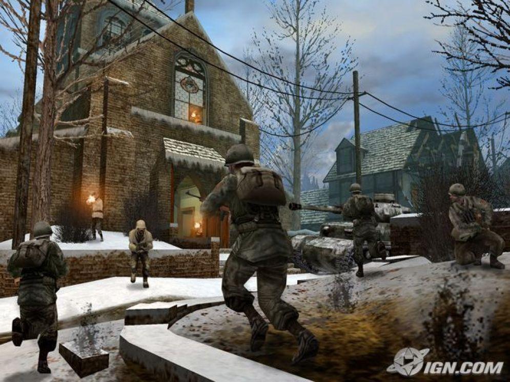 Screenshot ze hry Call of Duty 2: Big Red One - Recenze-her.cz
