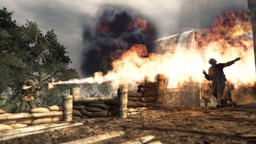 Screenshot ze hry Call of Duty 5: World at War - Recenze-her.cz