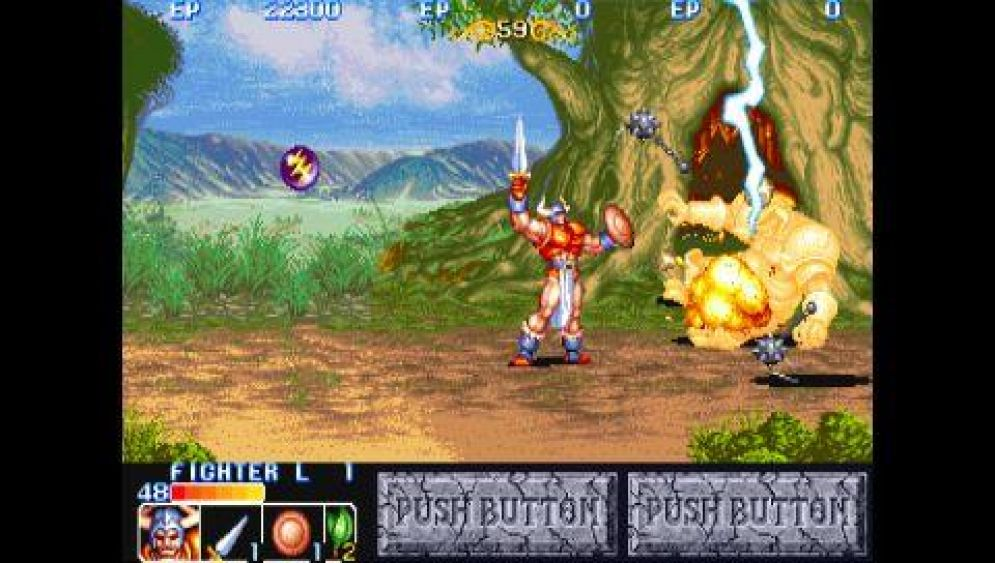 Screenshot ze hry Capcom Classics Collection Reloaded - Recenze-her.cz