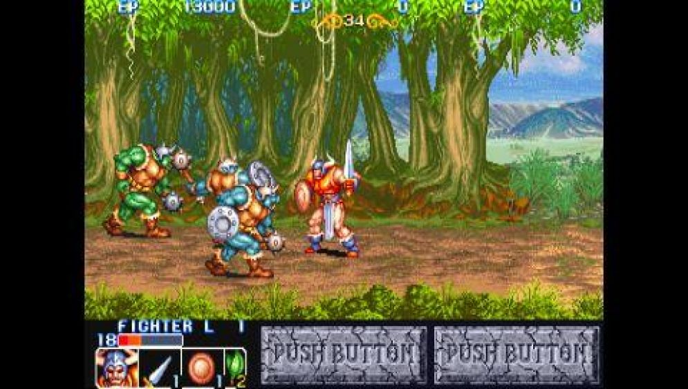 Screenshot ze hry Capcom Classics Collection Reloaded - Recenze-her.cz