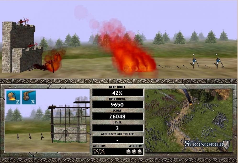 Screenshot ze hry Castle Attack 2 - Recenze-her.cz