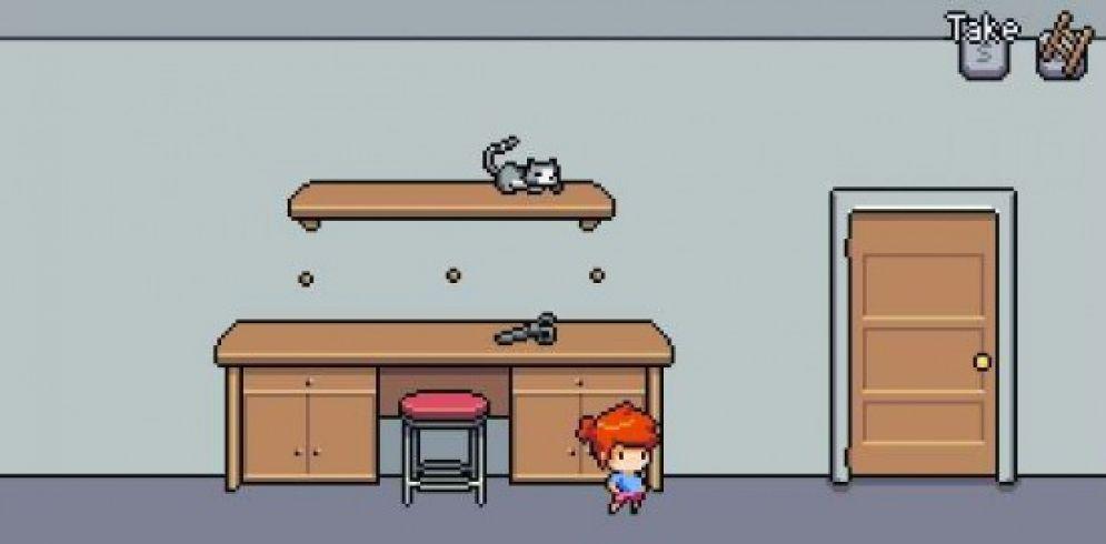 Screenshot ze hry Cat Poke - Recenze-her.cz