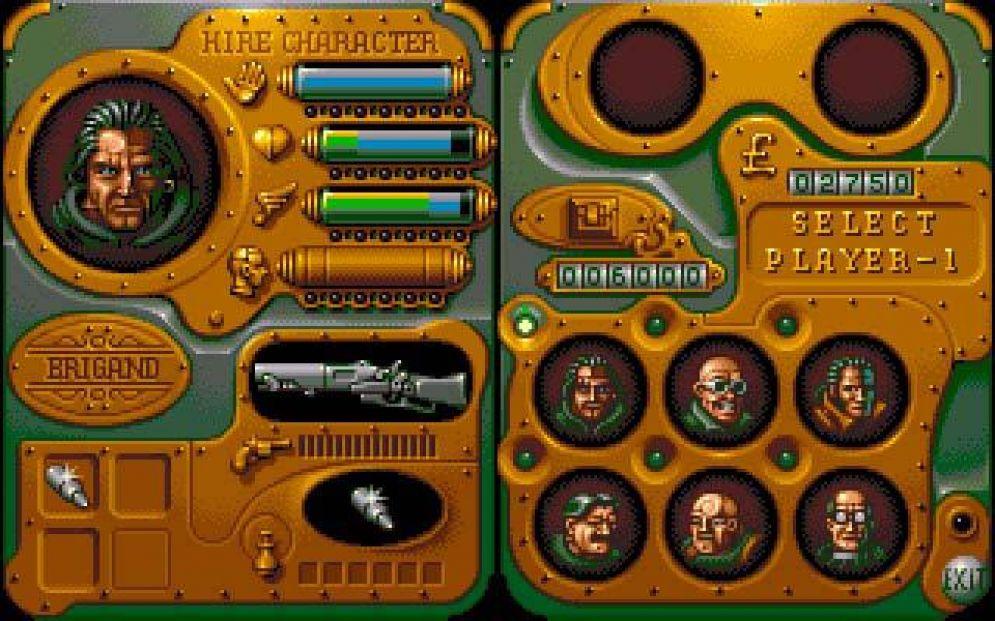 Screenshot ze hry Chaos Engine - Recenze-her.cz