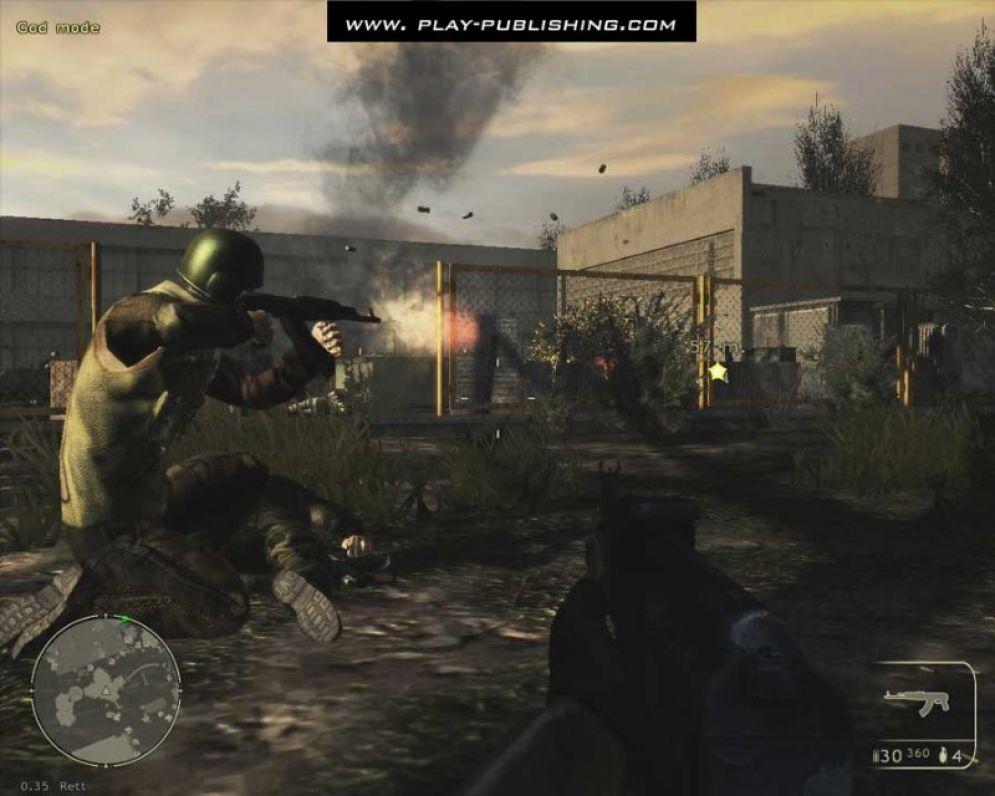 Screenshot ze hry Chernobyl Terrorist Attack - Recenze-her.cz