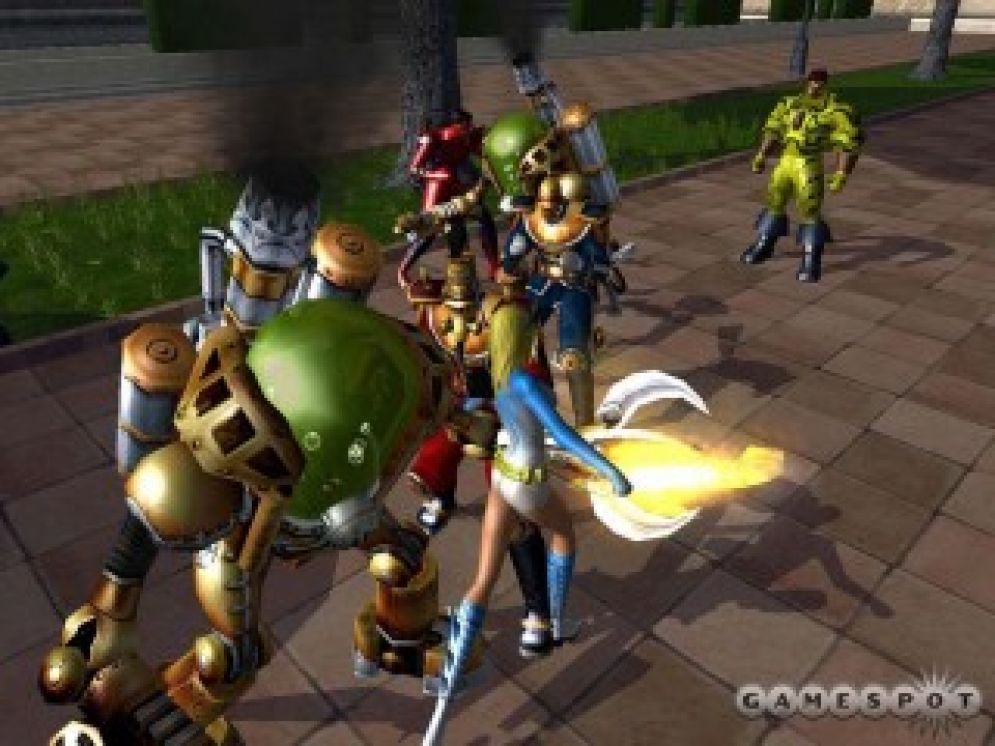 Screenshot ze hry City of Heroes - Recenze-her.cz