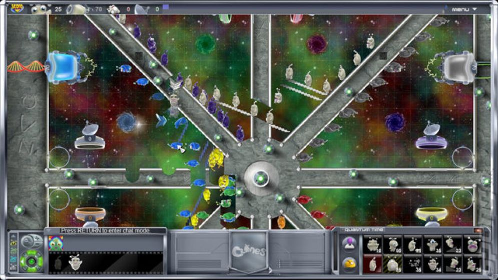 Screenshot ze hry Clones - Recenze-her.cz