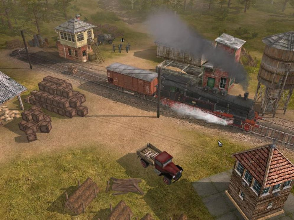 Screenshot ze hry Codename: Panzers - Phase Two - Recenze-her.cz