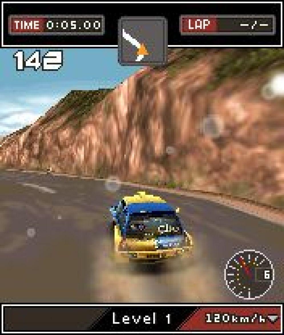 Screenshot ze hry Colin McRae: DIRT 3D - Recenze-her.cz