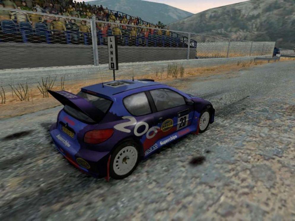 Screenshot ze hry Colin McRae Rally 04 - Recenze-her.cz