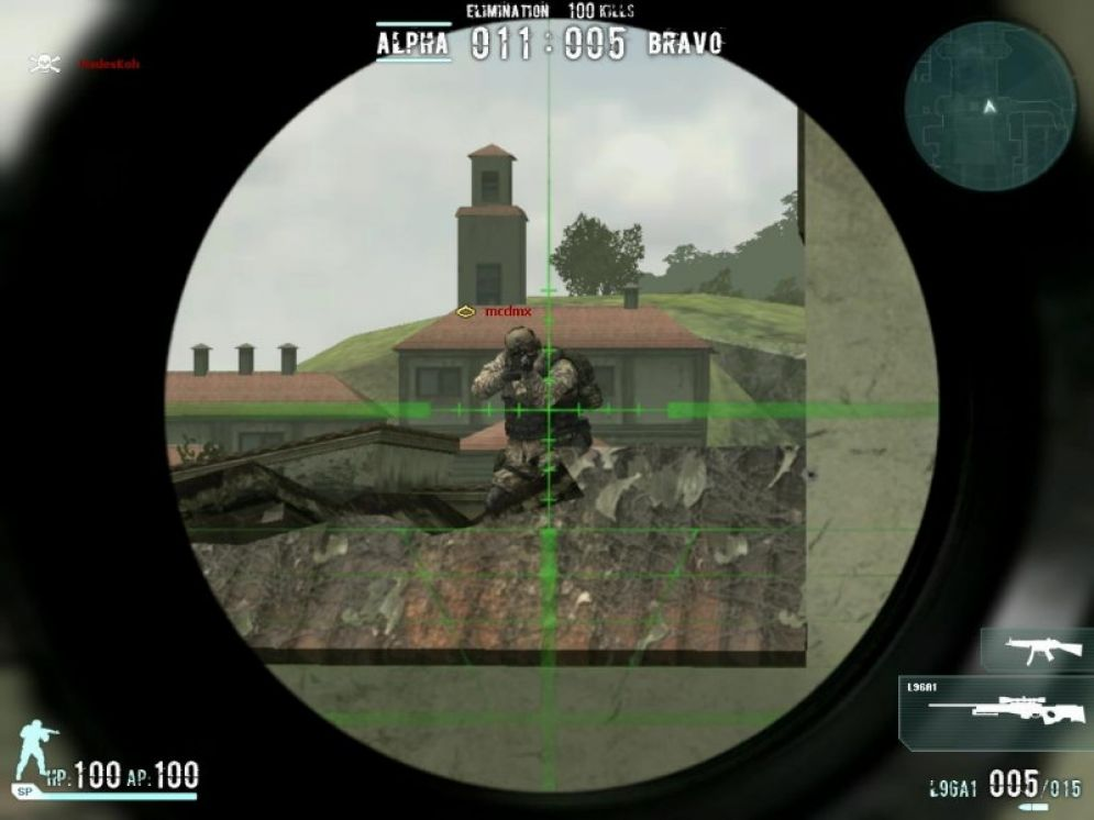 Screenshot ze hry Combat Arms - Recenze-her.cz