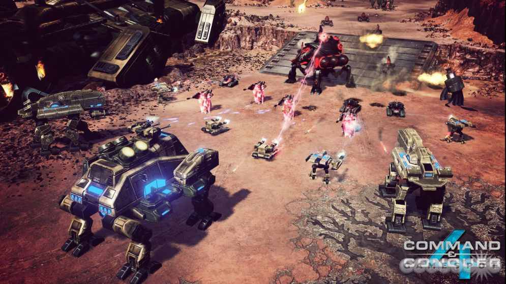 Screenshot ze hry Command and Conquer 4 - Recenze-her.cz