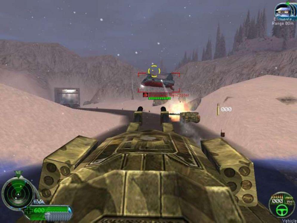 Screenshot ze hry Command & Conquer: Renegade - Recenze-her.cz
