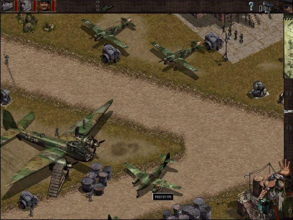 Screenshot ze hry Commandos: Beyond the Call of Duty - Recenze-her.cz